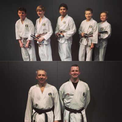 black belt Gradings 2020